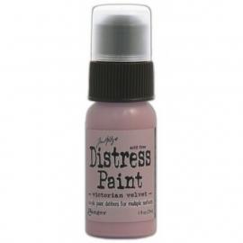 Distress Paint - Victorian Velvet - By Tim Holtz