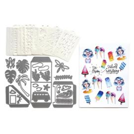 Elizabeth Craft Designs - Summer Journal Special K002