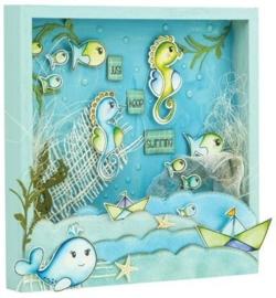 CUT-IES - Ocean Babies - Cloud-Stars (snijmallen)
