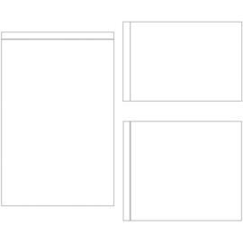 "Sn@p! - Photo Flips For 6""X8"" Binders 12 stuks"