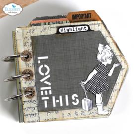 Elizabeth Craft Designs - Label Tabs - clearstamps (CS232)