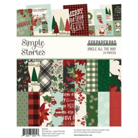 """Simple Stories - Jingle All The Way - 6""""x8"""" Pad"""
