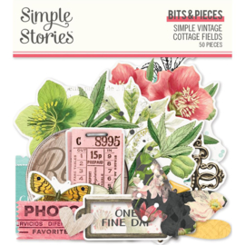 Simple Stories - Simple Vintage Cottage Fields - Bits & Pieces