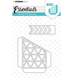 Studio Lght - Cutting and Embossing Die, Essentials nr.144