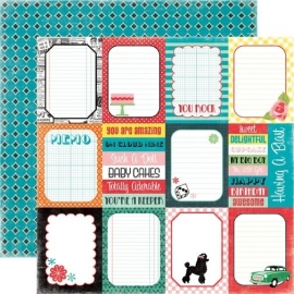 Echo Park Paper - Happy Days Journaling Cards