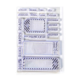 Elizabeth Craft Designs - Sidekick - Stamps 1