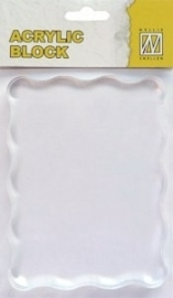 Nellie Snellen - Clear Block ca. 12 x 9 cm