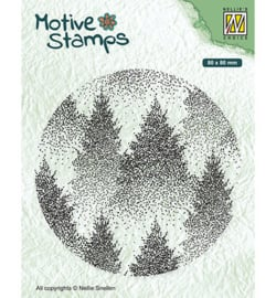 Nellie's Choice - Clearstamp - Cirkels -  Misty Forest
