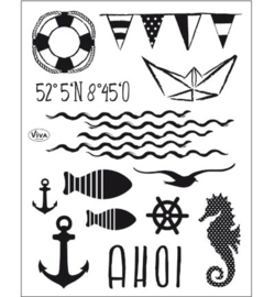 Viva Decor Clear Stamps - Ahoi