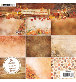Studio Light - Paper pad -  Wonderful Autumn -  nr.150