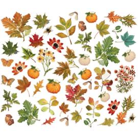 Simples Stories - Autumn Splendor - Foliage Bits & Pieces Die-Cuts 49 stuks