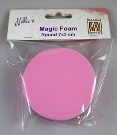 Nellies Choice - Mixed Media Magic Foam rond NMMF001 8cm, thick 3cm