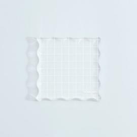 NIEUW Vaessen Creative - Acrylblok 90x90mm