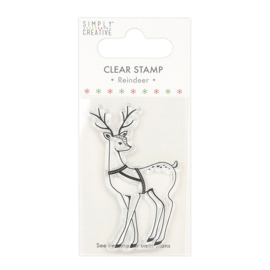 Simply Creative - Deer Clear Stamp (SCSTP031X20)
