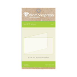 Diamond Press - Blanco folder maat A