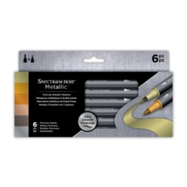 Spectrum Noir Metallic Markers - Precious Metals