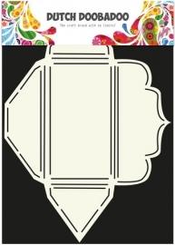 Dutch Doobadoo - Dutch Envelop Art Scallop rechthoekig A4