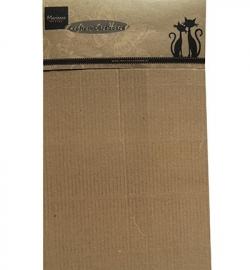 Marianne Design - Crafters Cardboard - Cardboard - Brown A5