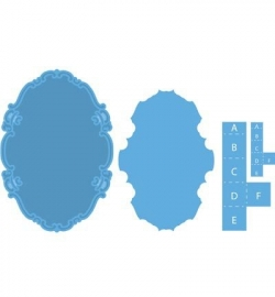 Marianne Design - Creatables - Oval & pop-up