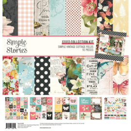 Simple Stories - Simple Vintage Cottage Fields - Collection Kit
