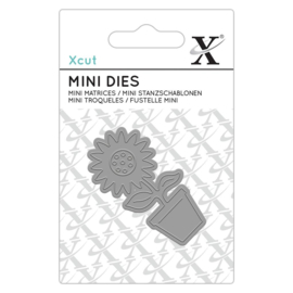 Xcut - Mini Die  - Flower Pot