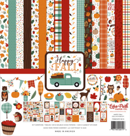 Echo Park - Happy Fall - 12x12 Inch Collection Kit (30,5 x 30,5 cm)