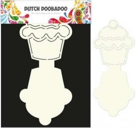Dutch Doobadoo - Dutch Card Art Stencil Cupcake