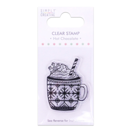 Simply Creative - Hot Chocolate - Clear Stamp