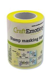 CraftEmotions - stempel maskeer tape - 6 cm - 10 meter