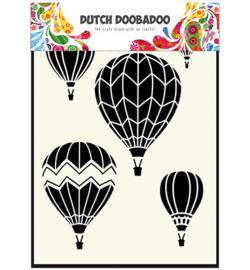 Dutch Doobadoo Dutch Mask Art stencil - Mask Art Airballoons multi