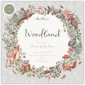 Craft Consortium -  Woodland - 6x6 Inch Paper Pad
