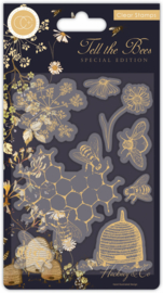 Craft Consortium - Tell the Bees Special Edition Animals Clear Stamps