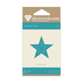 Diamond Press Multi-frame snijmallen - Sterren