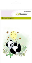CraftEmotions - clearstamps A6 - panda GB