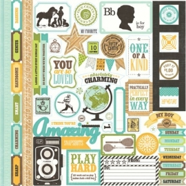 Echo Park Paper - This & That Charming - Element Stickers
