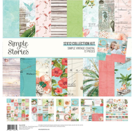 Simple Stories -  Simple Vintage Coastal - Collection Kit (12700)