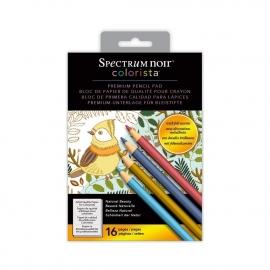 """Spectrum Noir Colorista 5""""x 7"""" Potloden kleurboek - Natuurlijke Schoonheid / Natural Beauty"""