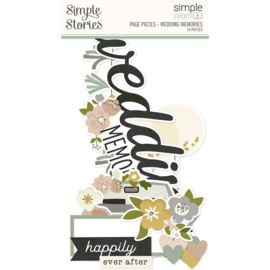 Simple Stories - Simple Pages Pieces Wedding Memories (15527)