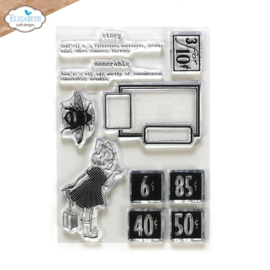 Elizabeth Craft Designs -  Memorable - clearstamps (CS234) PRE-ORDER!!