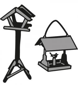 Marianne Design - Craftables - Tiny's Birdhouse 1