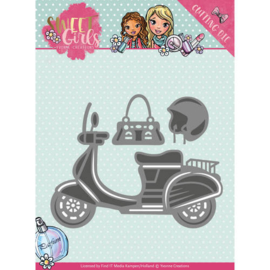 Yvonne Creations - Die - Sweet Girls - Scooter