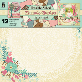 Hot Off The Press - Emma's Garden - Double-Sided Paper Pack 30,5 x 30,5 cm