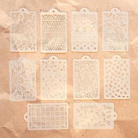 Elizabeth Craft Designs - Pattern Stencil Pack S040