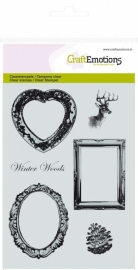 CraftEmotions - clearstamps A6 - Winter Woods - Lijsten