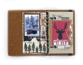 Elizabeth Craft Designs - Planner Essentials Dies 13 - Xmas Winter Insert