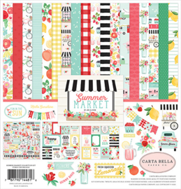 Carta Bella - Summer Market - 12x12 Inch Collection Kit (30,5 x 30,5 cm)