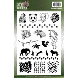 Amy Design - Clearstamps - Wild Animals 2