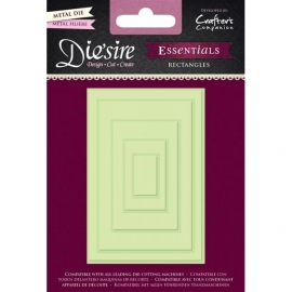 Crafters Companion - Die'sire Essentials Die - Rectangles