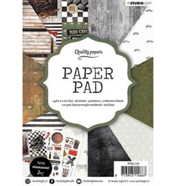 Studio Light - Paper Pad A5 -  Men nr.134