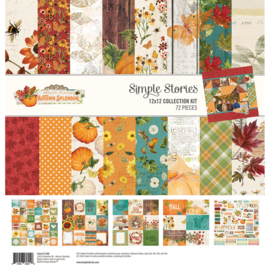 Simple Stories - Autumn Splendor Collection Kit - 30,5 x 30,5 cm